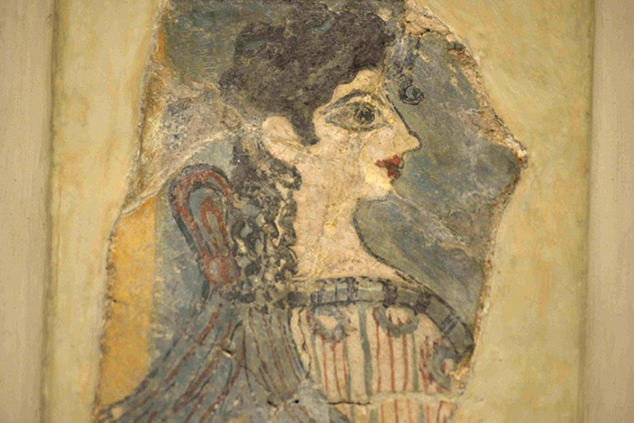 La Crète, Heraklion, musée archéologique