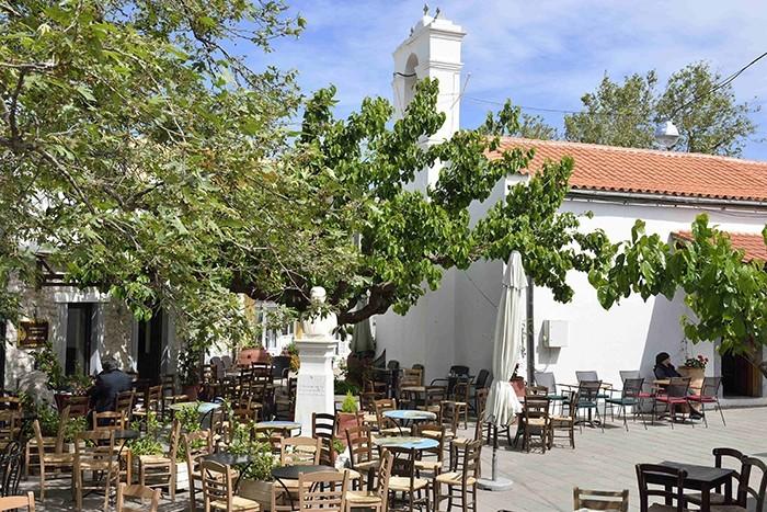 La Crète, village de Anogia