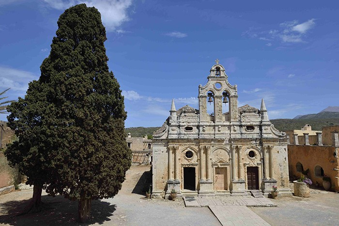 la crète, monastere d'Arcadi