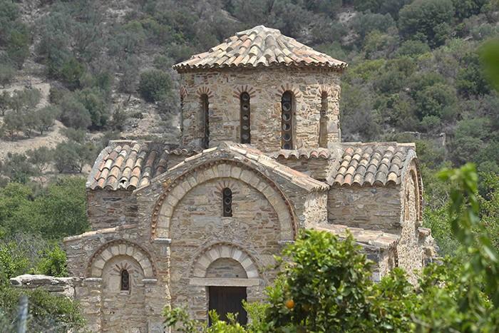 La Crète, chapelle à Fodele