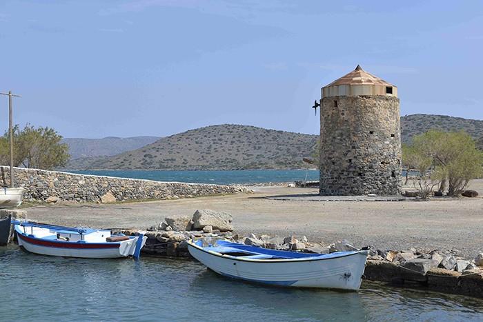 La Crète, presqu'île de Spinalonga