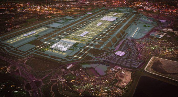 Projet Londres Heathrow