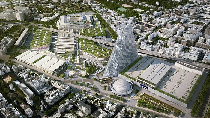 PARIS – Le parc des Expositions de la porte de Versailles a entrepris un ambitieux plan de modernisation avec en point d'orgue, le futur plus grand centre des congrès d'Europe.