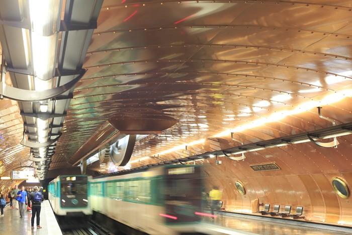 Paris Metro Arts Metiers