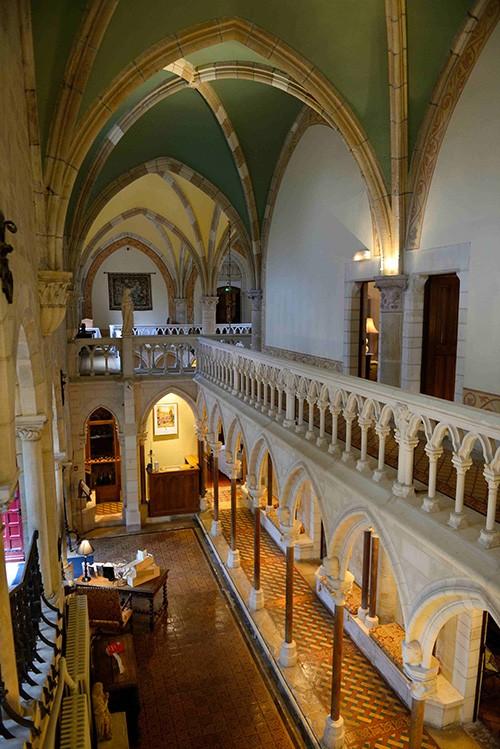 L'abbaye de la Bussière, reconvertie en hôtel.