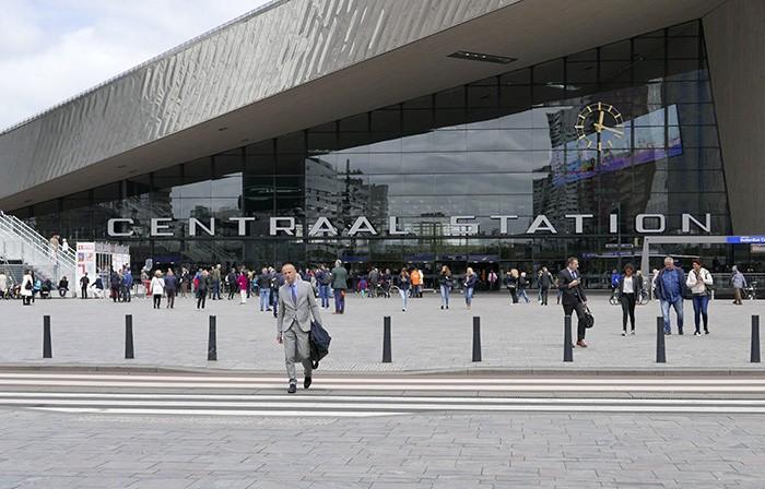 La nouvelle gare centrale de Rotterdam.