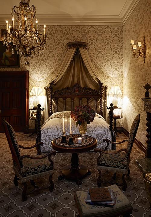 Le cadre historique d'Ashford Castle a accueilli tous les grands de ce monde.