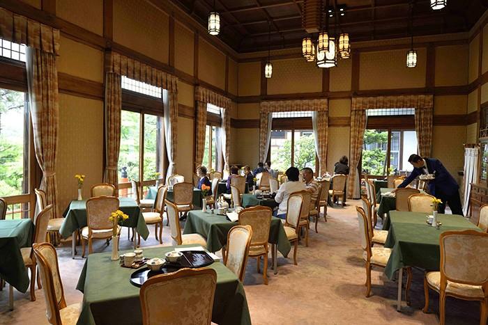 Le Nara Hotel, le charme à l'Européenne, très dans le ton de l'ère Meiji, d'un établissement chargé d'histoire.