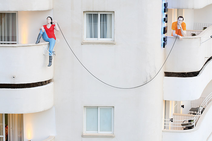 Classée à l'Unesco pour son architecture mêlant toutes les tendances du Mouvement moderne, la Ville Blanche voit ses bâtiments Bauhaus et Art Déco se métamorphoser en hôtels trendy et décalés (en photo, le Center Chic). © Ludovic MAISANT