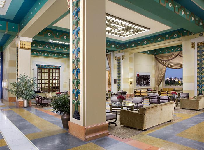 À Jérusalem, le King David, un hôtel de légende qui a accueilli toutes les célébrités de passage.