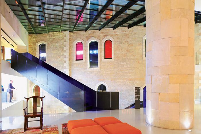 Le décor du Mamilla Hotel a été conçu par le designer italien Piero Lissoni. ©Ludovic MAISANT