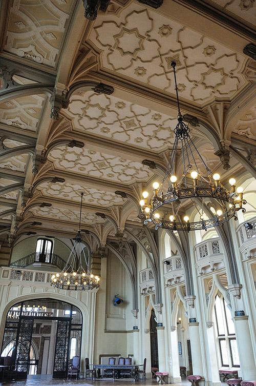 L'hôtel de ville du Touquet, de style gothique anglais.