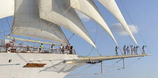 Naviguant dans les Caraïbes l'hiver, l'été en Méditerranée et depuis peu dans l'archipel indonésien, le Star Clipper fait revivre à ses passagers les grandes heures de la marine à voile.