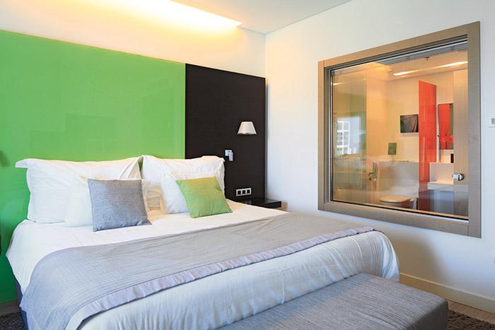 Localisation idéale et touche design : le Crowne Plaza allie tous les éléments du bel hôtel d'affaires. ©Ludovic MAISANT