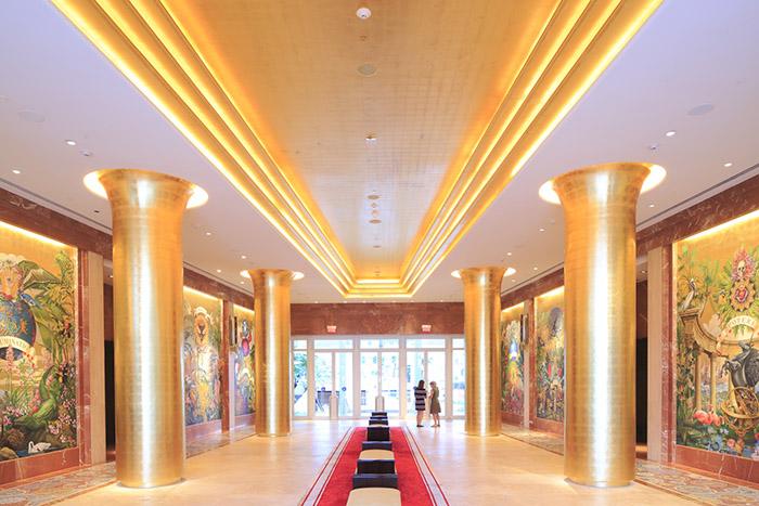 À côté de son luxe théâtralisé, le Faena s'inscrit dans l'effervescence arty de Miami. © Ludovic Maisant