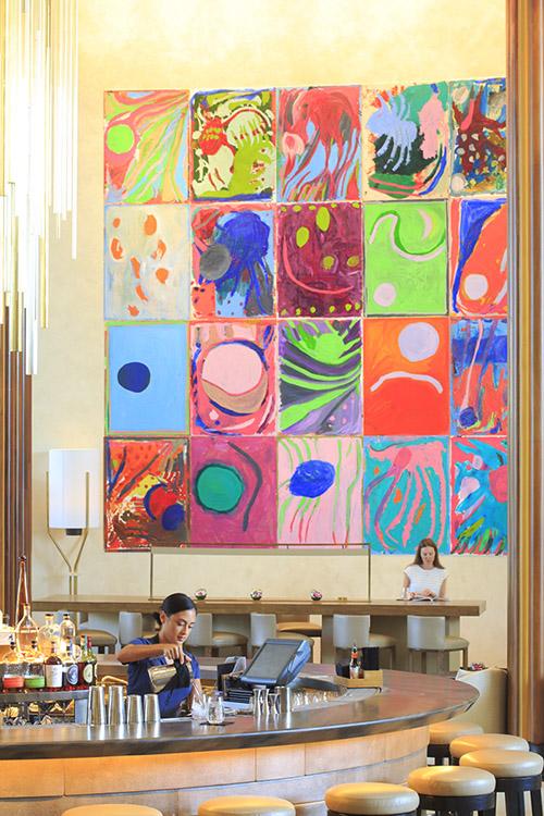 MIAMIHôtel dans l'hôtel, le Nobu Miami South Beach a inséré ses 206 chambres designées par David Rockwell au sein du mythique Eden Roc.© Ludovic Maisant