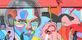 Réenchanter la grisaille urbaine, Miami s'y connaît. Depuis 2009, les Wynwood Walls se préparent chaque année à recevoir les visiteurs d'Art Basel en se parant d'œuvres réalisées par des stars du street art.© Ludovic Maisant