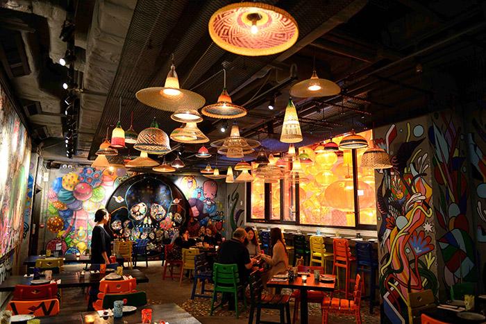 Un design façon street art, une cuisine nippo-brésilienne : récemment ouvert, le restaurant Djapa incarne l'esprit tendance d'une mégapole ouverte sur un monde bien dans son temps.