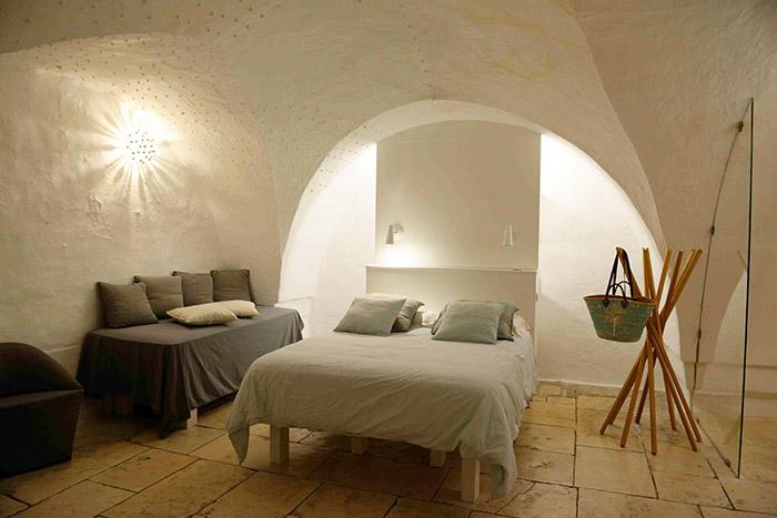 La Masseria Alchemia, très bel exemple de ces anciennes fermes reconverties en boutique hôtels design.