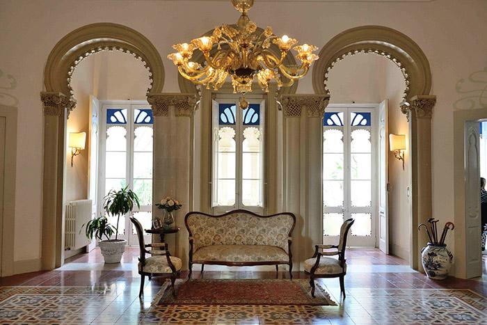 Les villas du quartier de Cenate, à Nardo, mêlent influences mauresques et style Liberty, déclinaison italienne de l'Art nouveau.