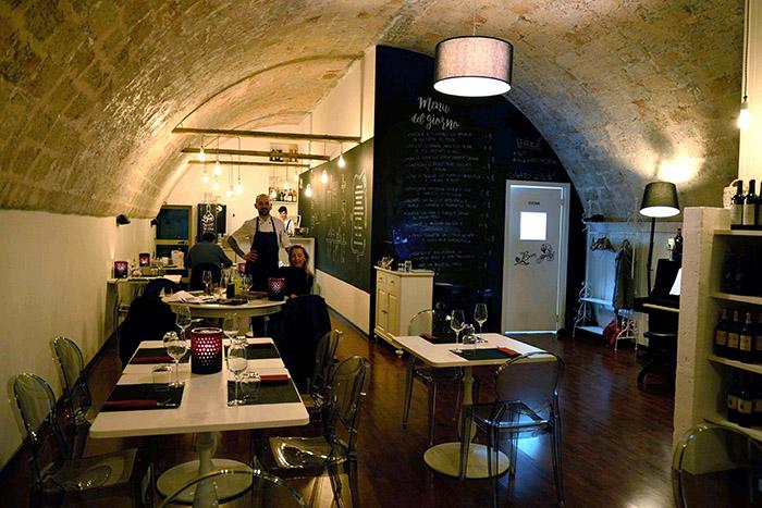 Pentole e Provette, un restaurant mêlant l'inventivité à la tradition, celle d'une cuisine simple et exquise.