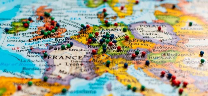 Carte Europe Voyage.Les Travel Managers S Inquietent De La Securite En Europe