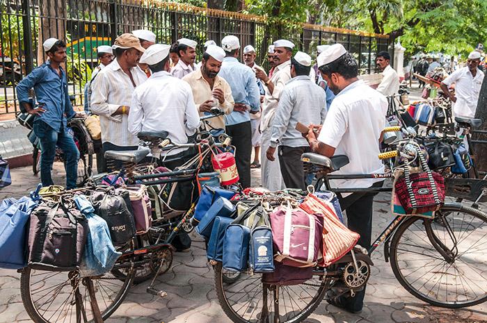 inde-bombay- livreurs de repas