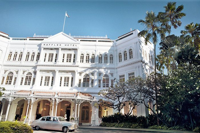 Singapour palaces intemporels et h tels high tech for Les noms des hotels