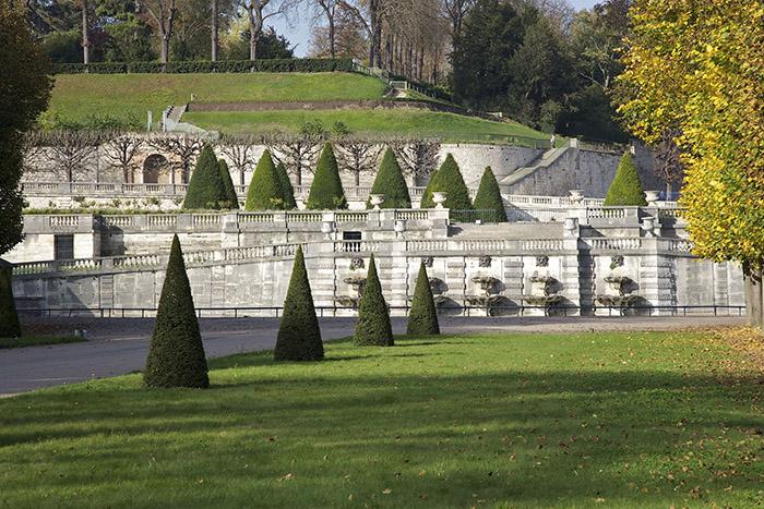 Parc de Saint-Cloud, bassin du Fer à Cheval