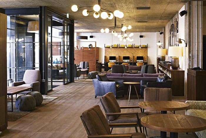 L 39 h tellerie d 39 affaires se met au coworking for Londres hotel design