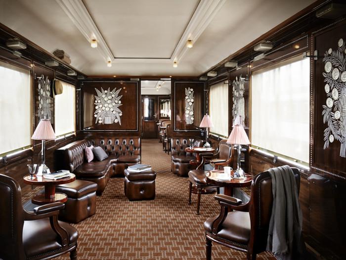 L'Orient Express, un train de légende de style Art Déco.