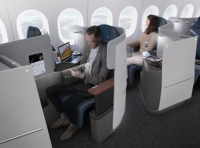 Lufthansa dépliera une nouvelle classe affaires en 2020.