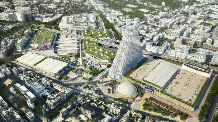 Le paris convention centre un nouvel atout cl sur le - Palais des expositions porte de versailles ...