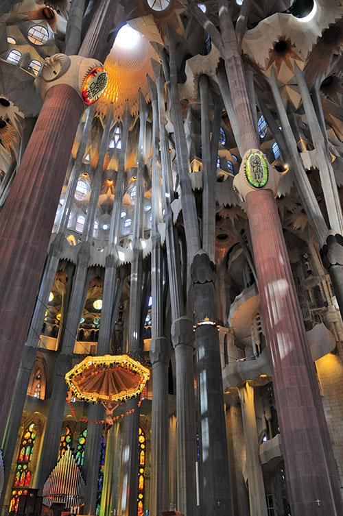 """Pour terminer ce """"Best of"""" d'architectures classées à l'Unesco, la Sagrada Familia de Barcelone"""