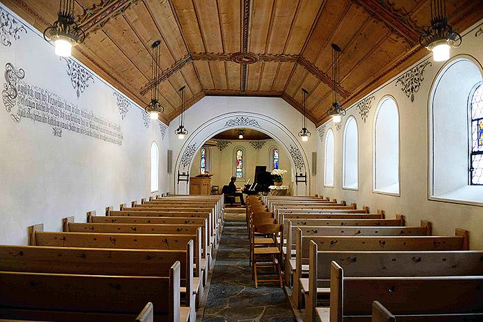 gstaad, chapelle st Nicolas