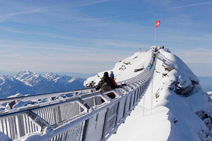 Pont suspendu Peak-Walk.