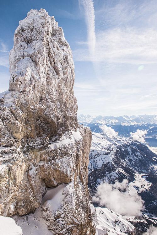gstaad, glacier 3000