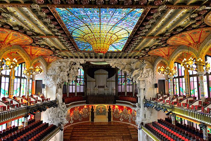 Barcelone, théâtre du Liceu.