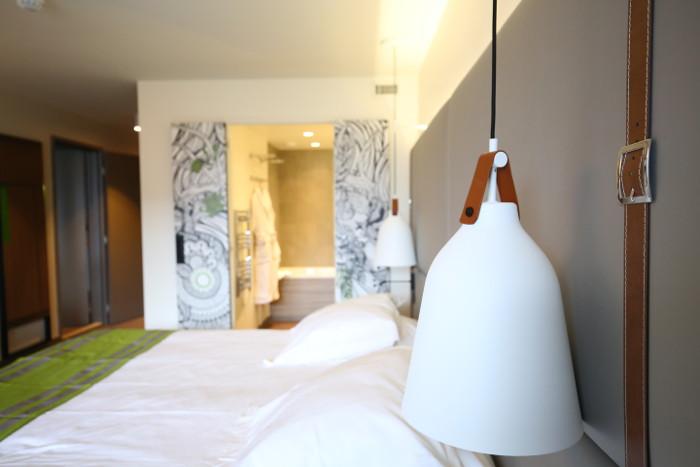 Une des chambres du nouveau resort