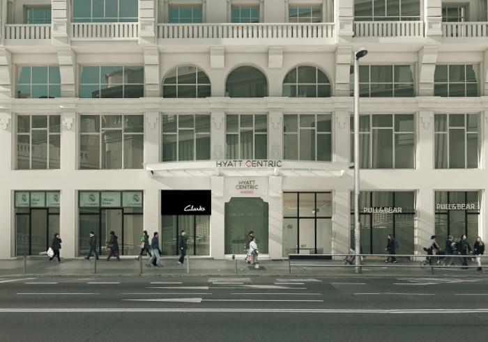 Hyatt-Centric-Gran-Via-Madrid-Main-Door