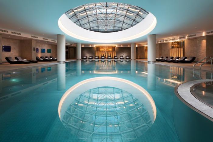 Le centre de fitness et spa Olympus
