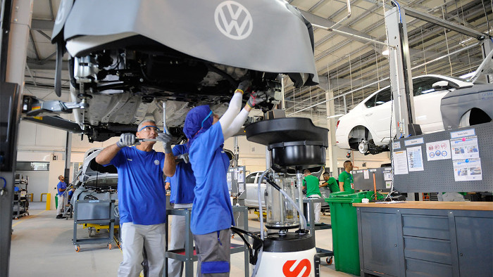 Usine Volkswagen