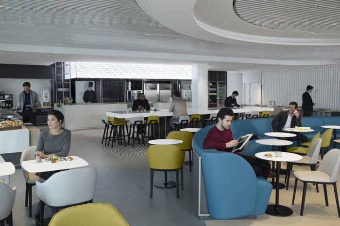 Paris cdg un nouveau salon air france pour le business for Salon air france terminal 2e