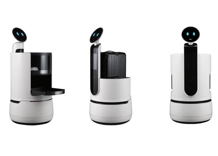 LG a annoncé la sortie trois nouveaux robots