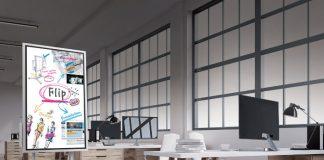 Le Flip board de Samsung veut remplacer les white board classiques
