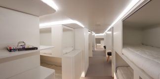 Airbus-couchette