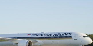 Un avion de Singapore Airlines