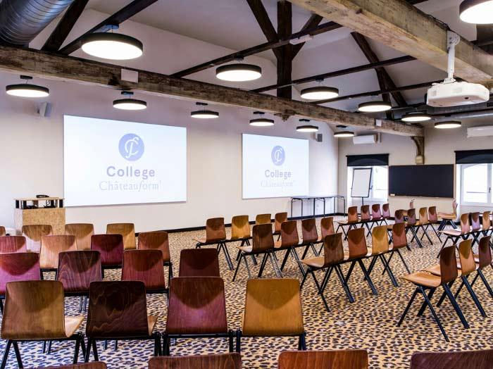 Salle plénière du College La Manufacture