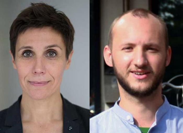 Bénédicte Guichard, co-fondatrice de Cleeng et Jan Hlobil, fondateur de Peper.Click.
