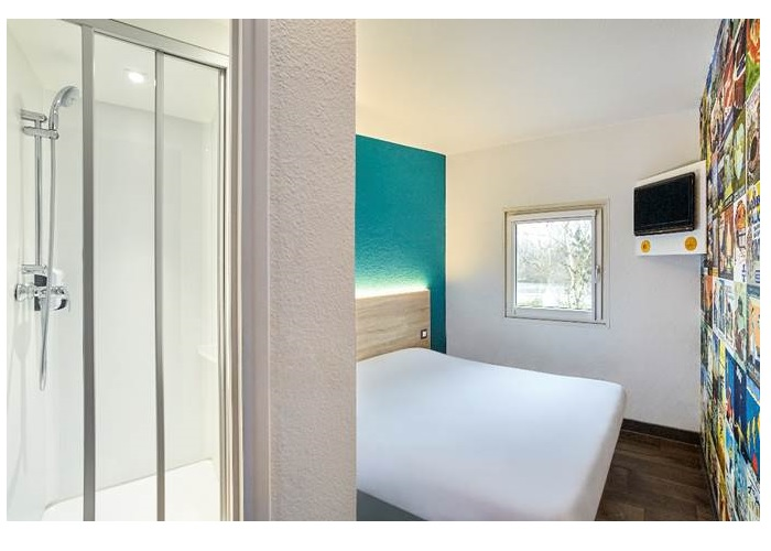 La nouvelle chambre Cabrio de hotelF1